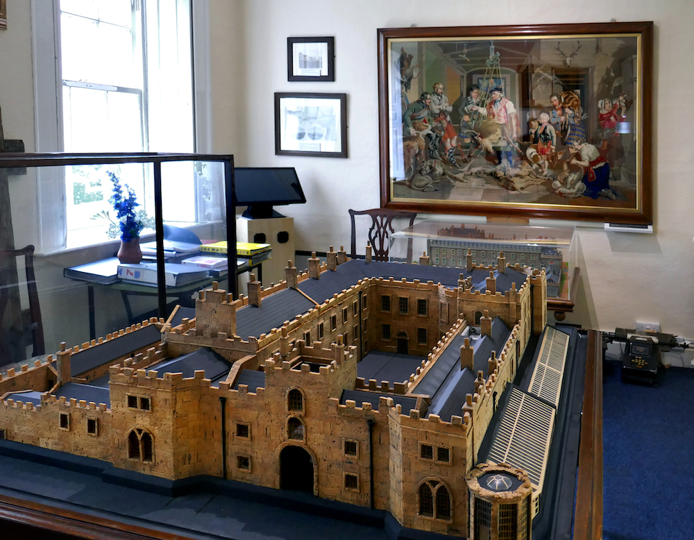 Cork Model Of The Hall